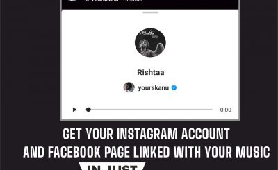 Link your music with your Instagram Account